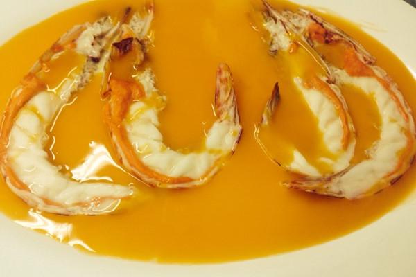 蟹粉芙蓉虾的做法