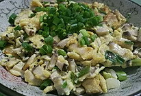 香菇炒鸡蛋的做法