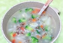 蔬菜燕麦粥的做法