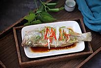 清蒸鲈鱼#肉食者联盟#的做法