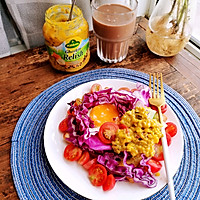 #夏日撩人滋味#三分鐘快手早餐 開放式三明治的做法圖解7