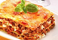 Beef lasagne 意大利烤牛肉宽面条的做法