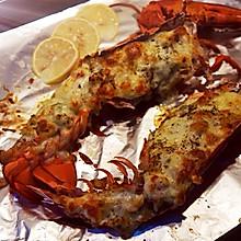奶油芝士蒜蓉焗龙虾