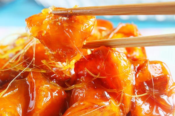 拔丝地瓜│香甜酥脆的做法