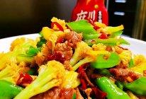 #豪吉川香美味#五花肉炒花菜的做法