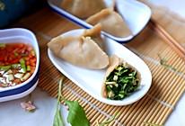 马兰头莜面饺子#野菜版的做法