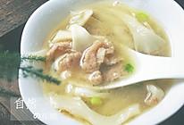 自种蘑菇肉片汤的做法