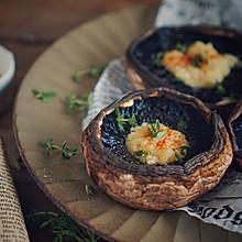 里昂黄油法香碎烤牛排菇,好吃的没道理!