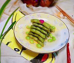 #秋天怎么吃#一吃就上瘾的糟毛豆的做法