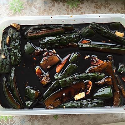 简单美味腌黄瓜