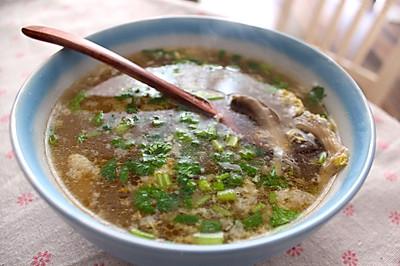 蘑菇鸡蛋汤-小时候最爱喝的汤