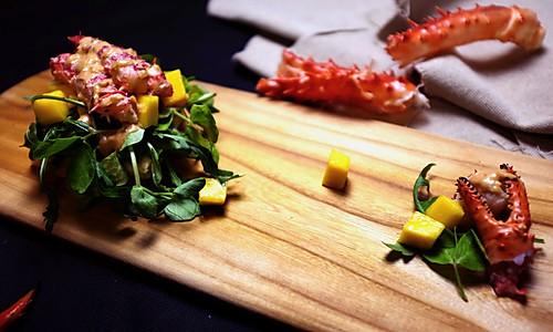 蟹肉沙拉的做法