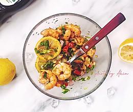 减脂 泰式酸辣柠檬虾的做法