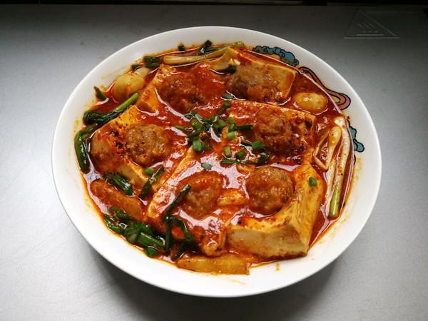 豆腐抱丸子的做法