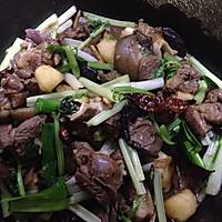 干锅羊肉的做法图解2