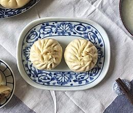 #馅儿料美食,哪种最好吃#梅干菜肉馅包子、梅干菜肉馅饼通用版的做法