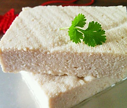 【白醋版】自制豆腐的做法