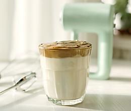 网红泡沫咖啡牛奶的做法
