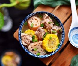 《陈情令》同款的莲藕排骨汤的做法