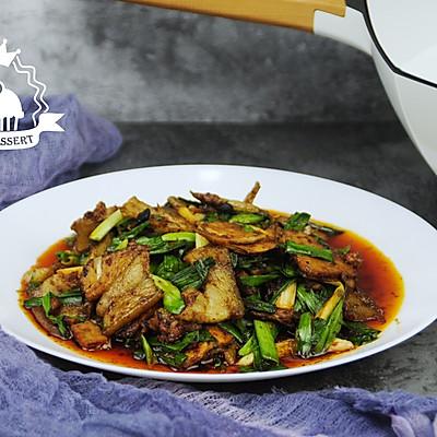 川菜之蒜苗回锅肉