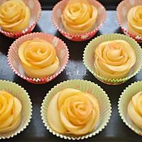 玫瑰苹果卷 可以吃的浪漫的做法图解9