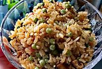 腊肉豌豆糯米饭的做法