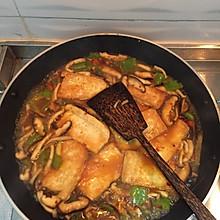 蘑菇豆腐煲