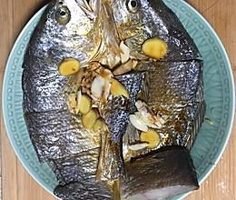 蒸黄花鱼干的做法