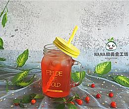 #舌尖上的端午#酸甜冰爽的山樱桃汁的做法