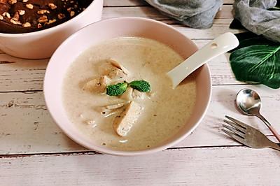 【生酮饮食·真酮】奶油蘑菇汤