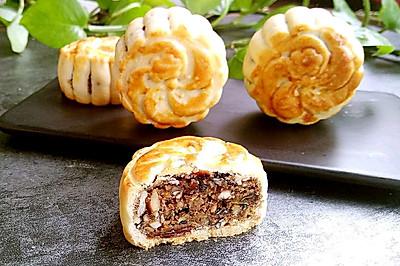 #美食新势力#混糖五仁月饼