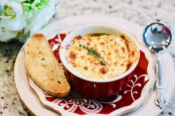 法国洋葱汤#母亲节,给妈妈做道菜#的做法