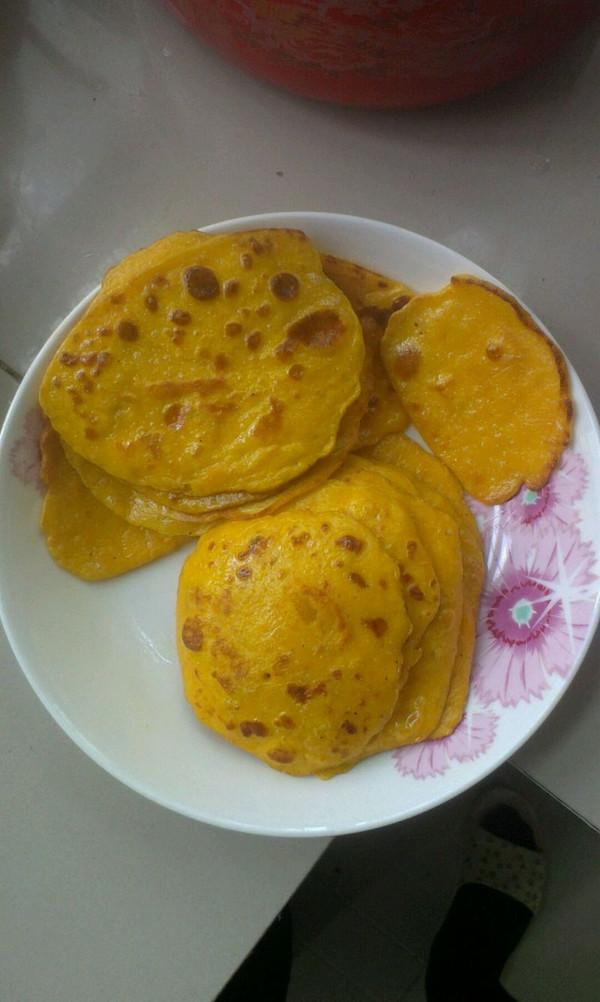 南瓜饼 宝宝爱吃的做法
