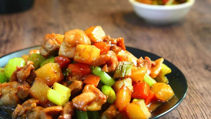 鸡丁炒土豆