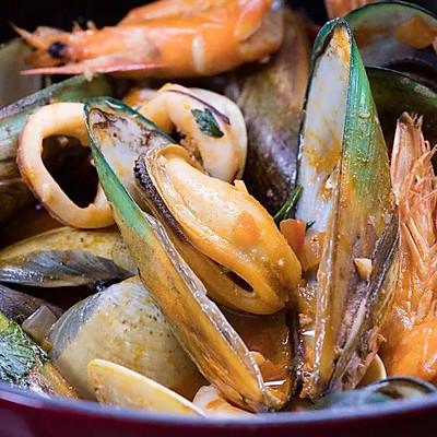 适合冬天的海鲜大餐,这做法简单!