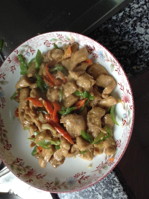 口感超级好的鸡胸肉吃法 青椒鸡胸肉的做法