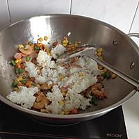 虾仁培根焗饭的做法图解5