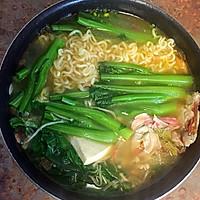 日式海鲜味增汤的做法图解4