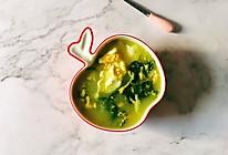 百花菜蛋花汤的做法