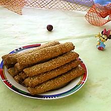 葵花籽酥条#暖秋美食#