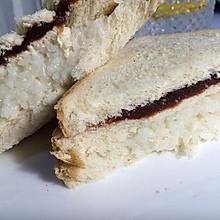 糯米豆沙三明治