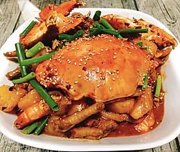 #美食新势力#  肉蟹煲的做法