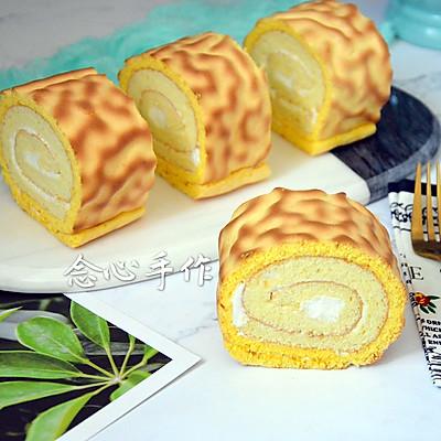 虎皮纹蛋糕卷