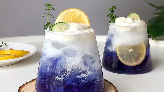 夏日高颜值饮品丨雪山气泡水清凉超解暑的做法