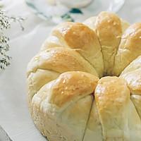 皇冠花朵面包的做法图解14