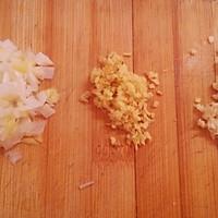 香辣牛肉榨菜豆腐花的做法图解2