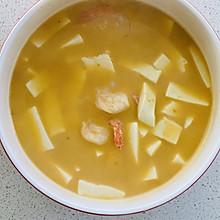 美味的蛋黄豆腐羹
