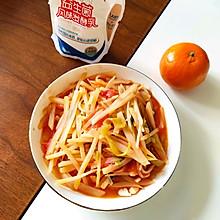 番茄炒土豆丝(特别下饭)