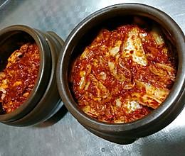 好吃到爆的快手朝鲜族辣白菜的做法