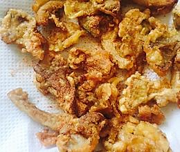 油炸平菇的做法